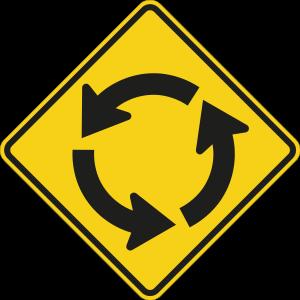 Circular Yield Sign